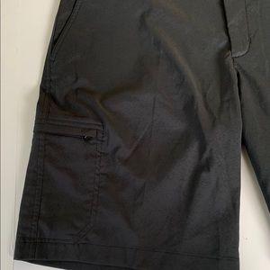 Nike Shorts - Nike Golf Dri Fit Flat Front Cargo Shorts Black 36